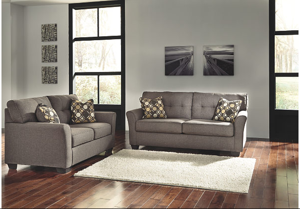 Ashley Furniture Tibbee Sofa Love Seat Living Room Set