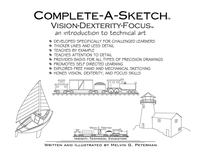 Complete-A-Sketch™ Vision-Dexterity-Focus™ Digital Download