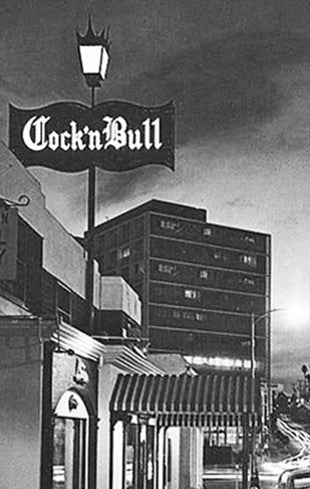 Cock'nBull Bar Black and White Photo from Los Angeles in the 1940s