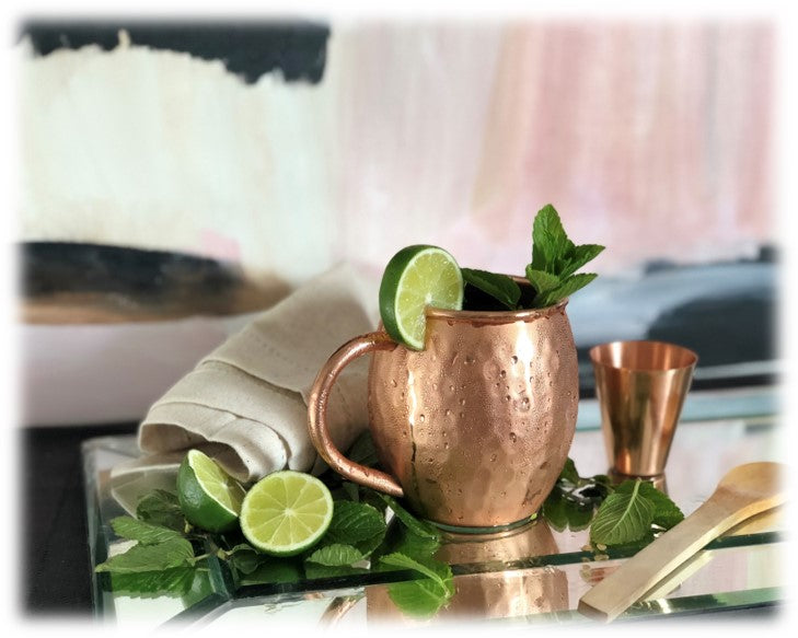 Moscow Mule Cocktail by Urban Vintage LA