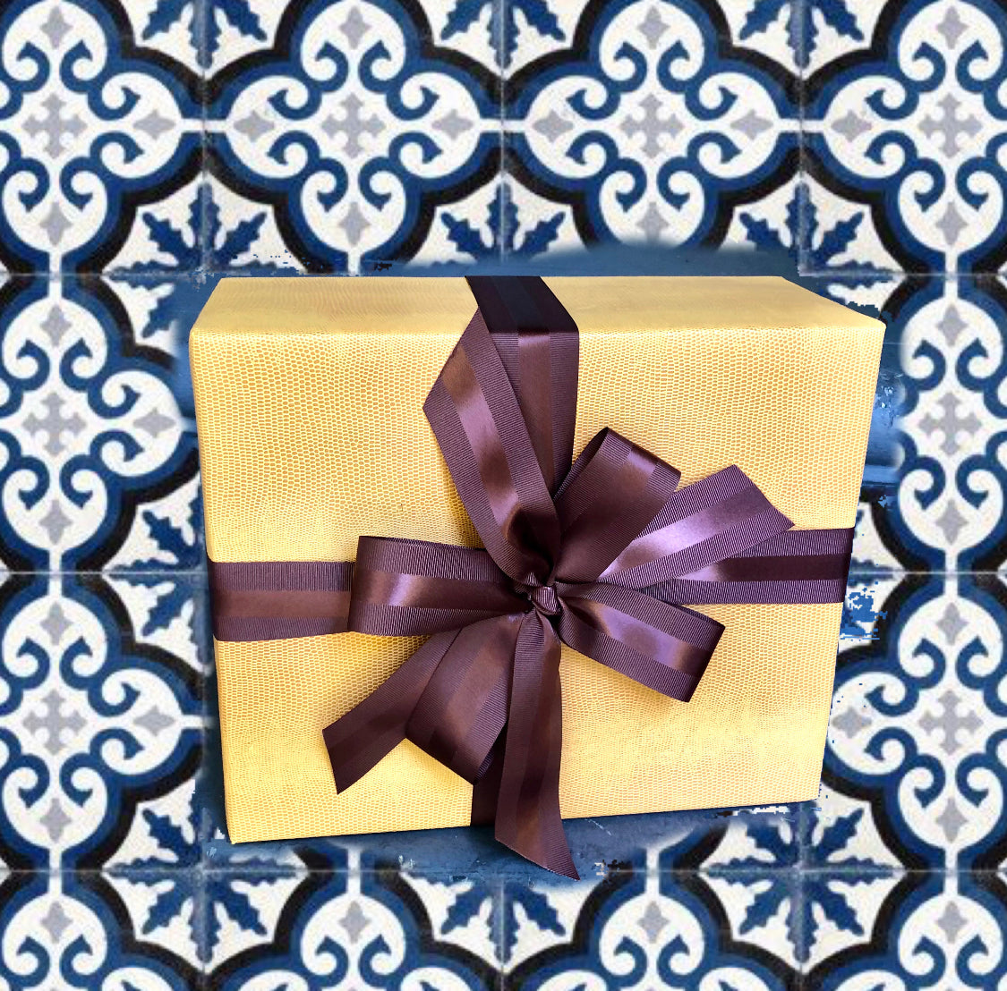 Urban Vintage LA Brown Grosgrain Ribbon 1.5 Inch with Satin Strip