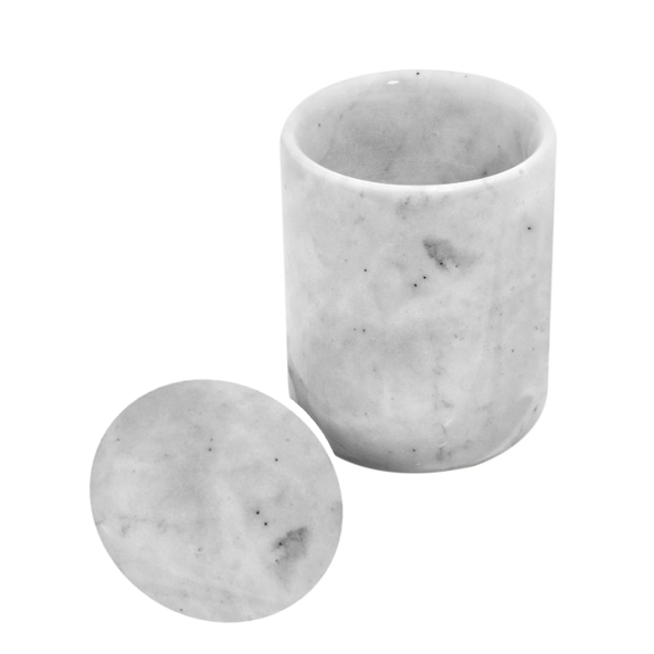 Urban Vintage LA Marble Jar with Marble Lid