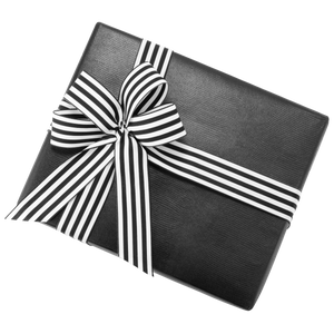 Premium - With Black & White Ribbon