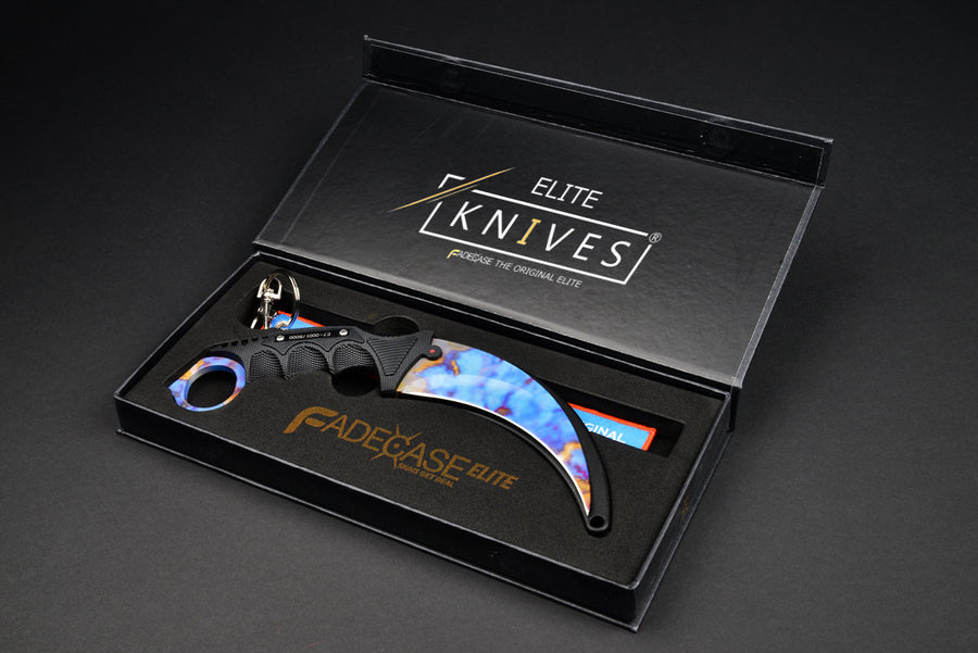 Karambit Elite – Case Hardened