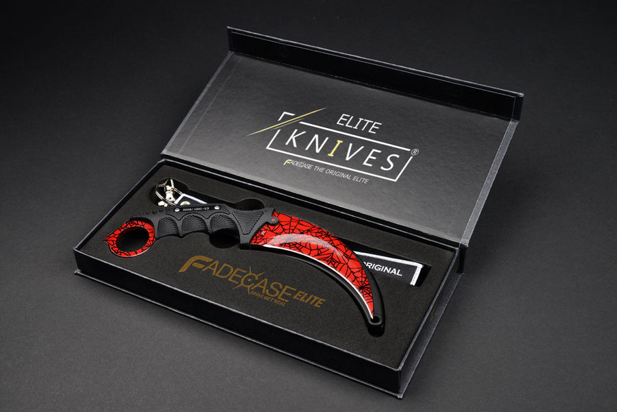 Karambit Elite – Crimson Web