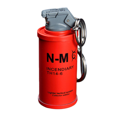 Keychain Incendiary Grenade Lighter