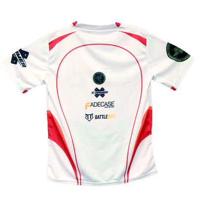 Red Reserve White Jersey
