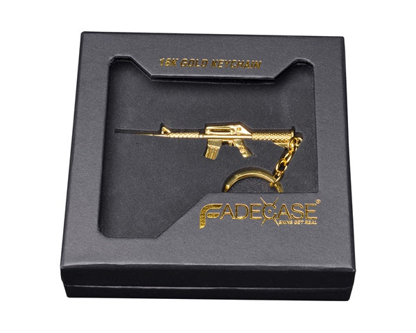 18k Gold Keychain - M4A1-S