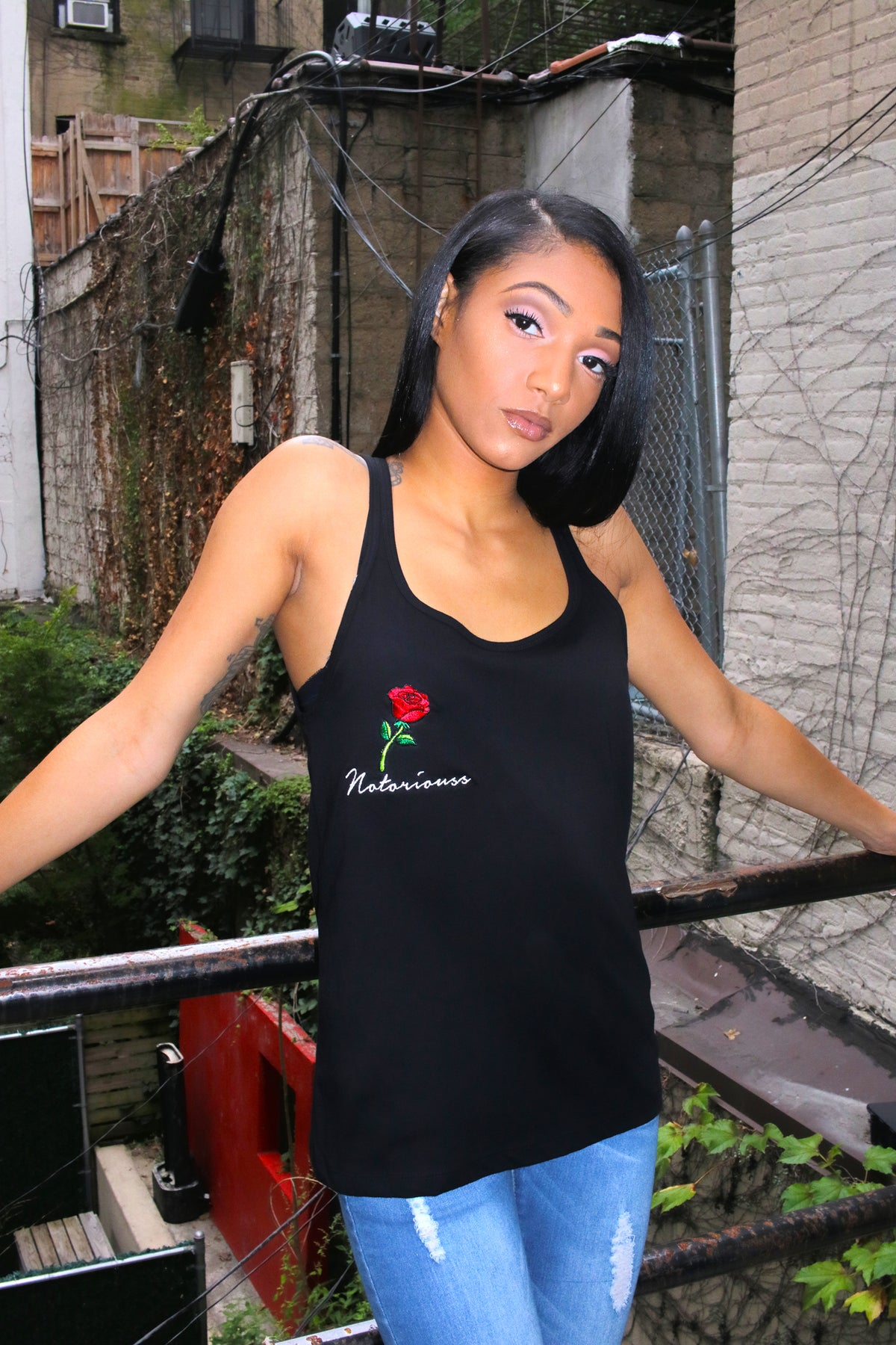 Rose Tank Top (Female)