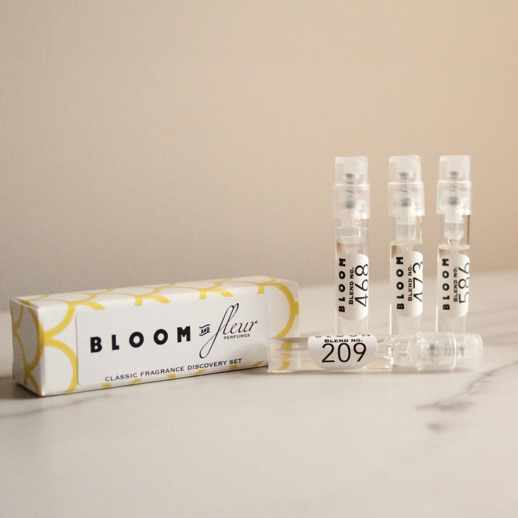 Bloom & Fleur Perfume Samples // Choose Your Scent
