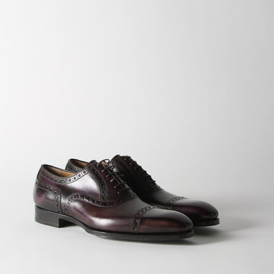 Burgundy Oxfords