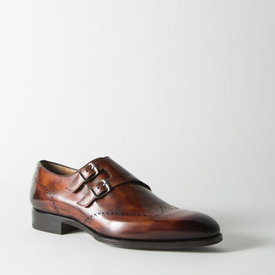 Brown Monk Straps