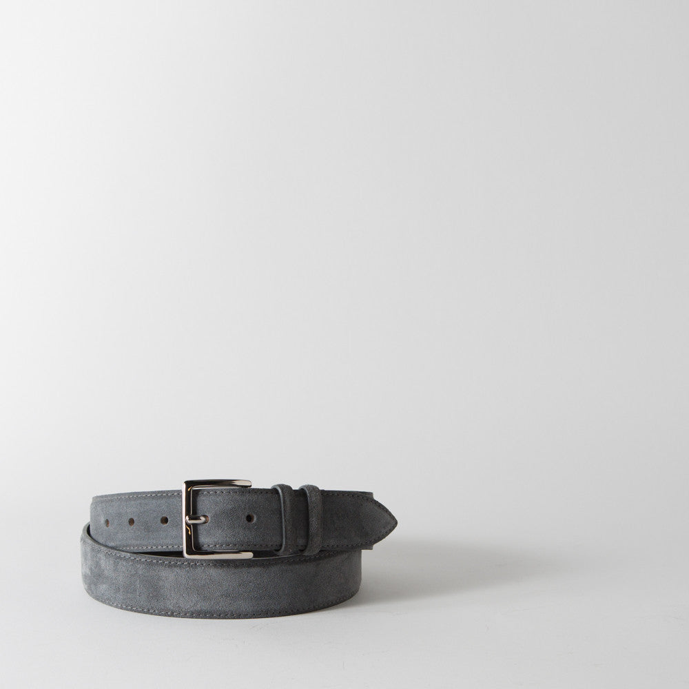 Antracite Suede Belt