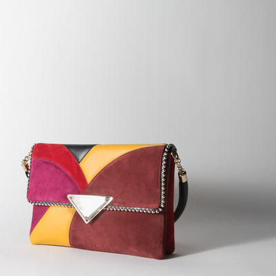 Isabelle Shoulder Patch Bag