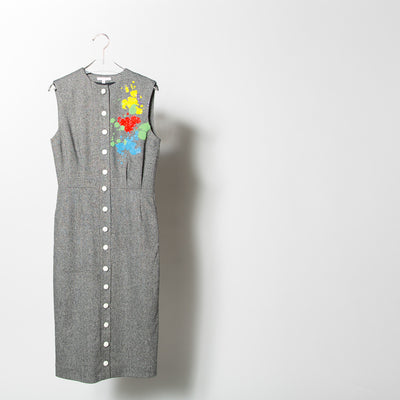 Jackson Gabbiano Embroidered Dress
