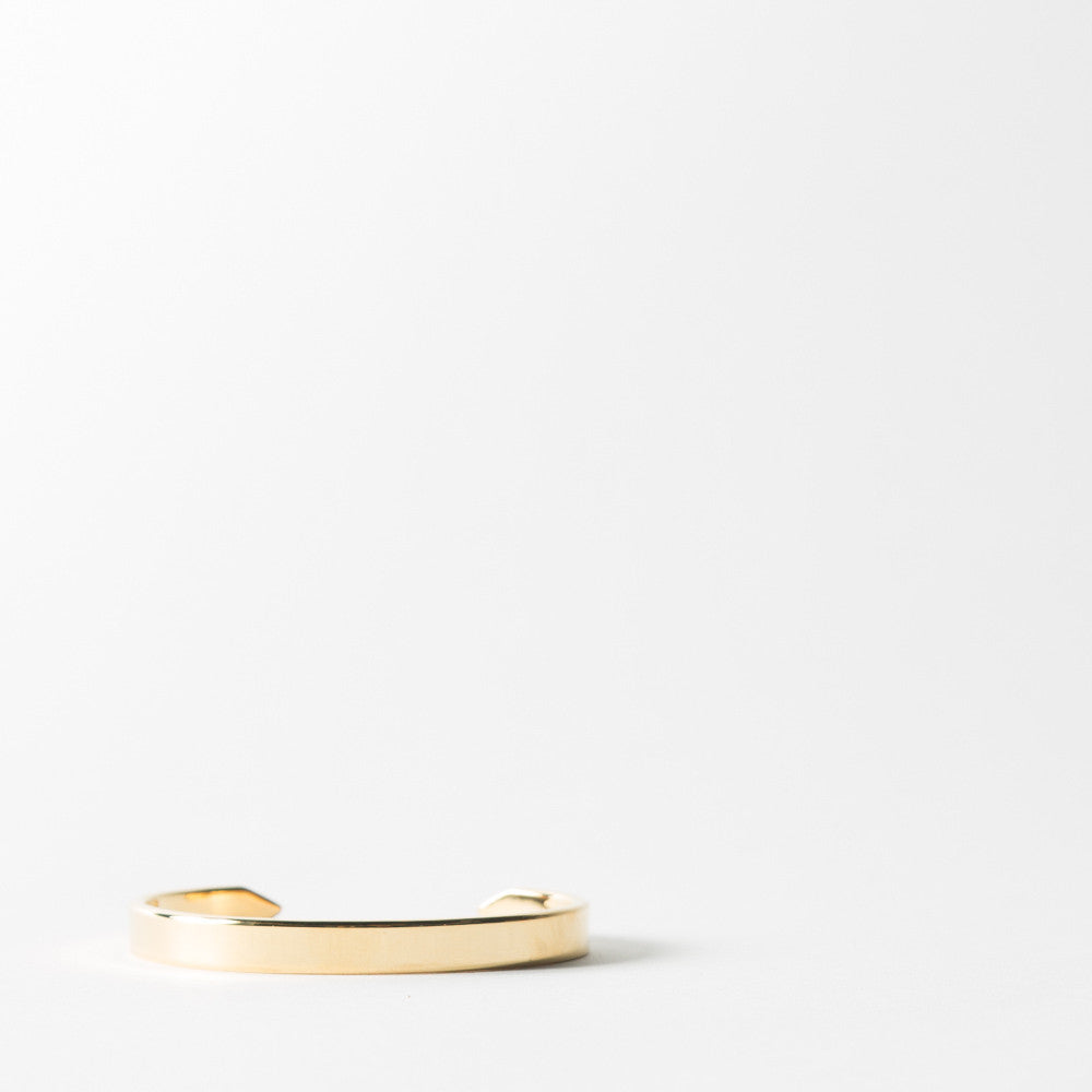 End Cuff in Gold