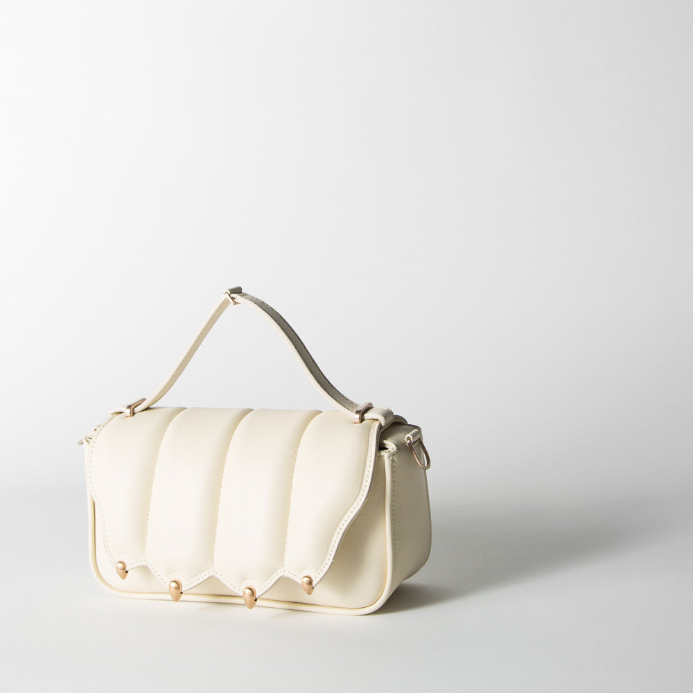 Milk and Pink Gold Shoulder Bag