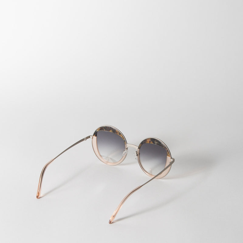 Cloud Cuckoo Land Sunglasses in Klimt & Demoiselle Champagne