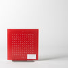 Touch Table Clock, red