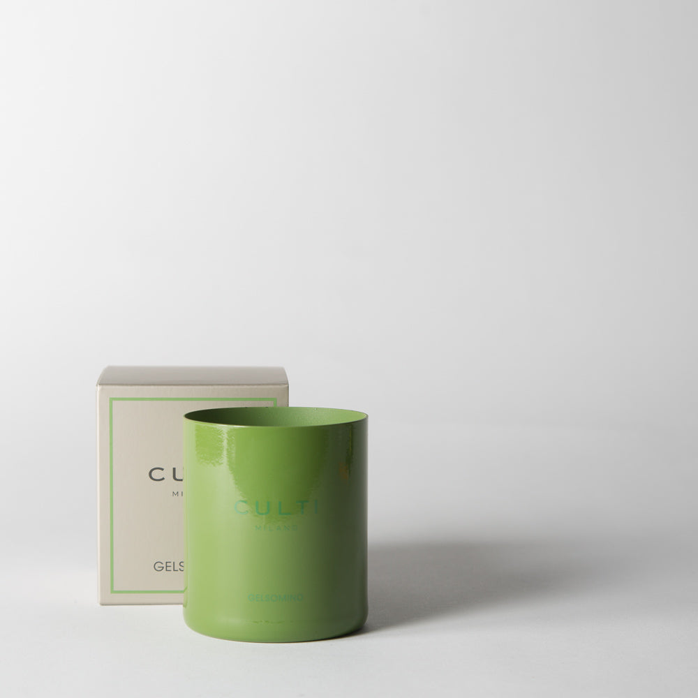 Gelsomino Candle, green