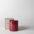 Velvet Candle, red