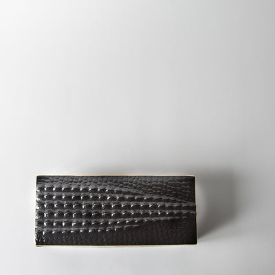 Rectangular Crocodile Box
