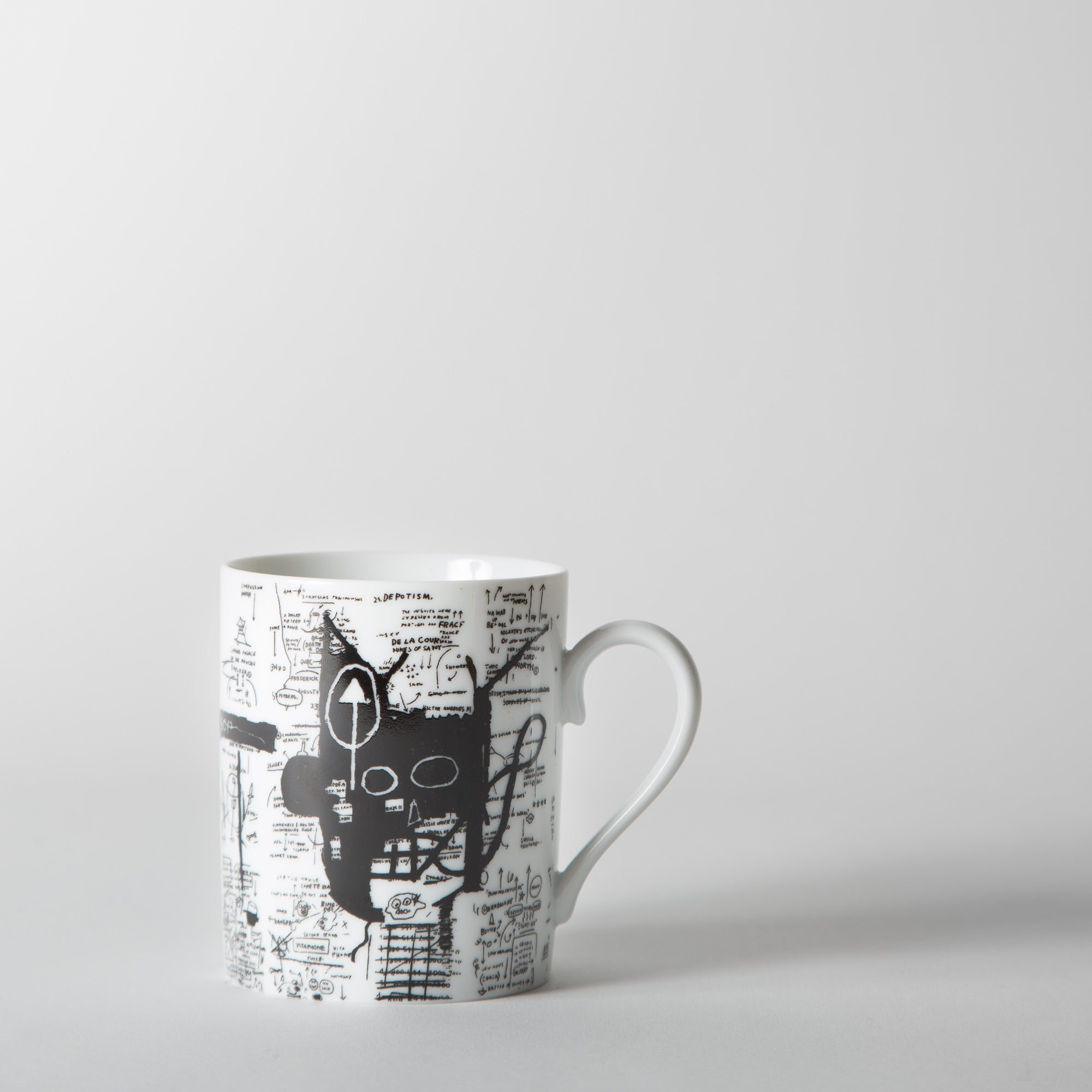 Jean-Michel Basquiat - 'Return of the Central Figure' Mug