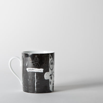 Jean-Michel Basquiat - 'Black & White' Mug