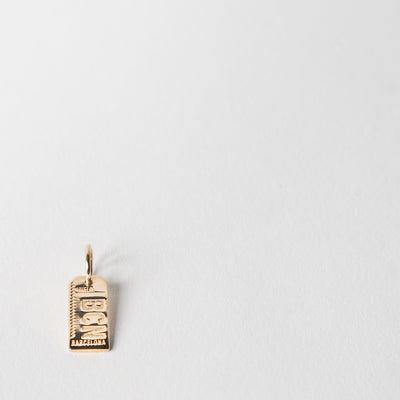 Mini-Luggage Tag Charm, Barcelona