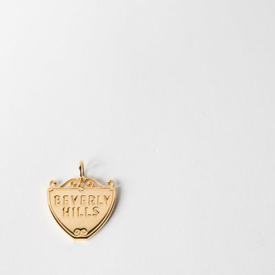 Beverly Hills Sign Charm