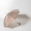 Pied De Poule Umbrella with Studded Leather Handle