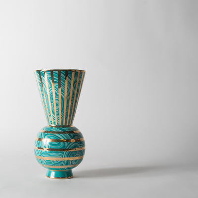 Malachite Ring Vase