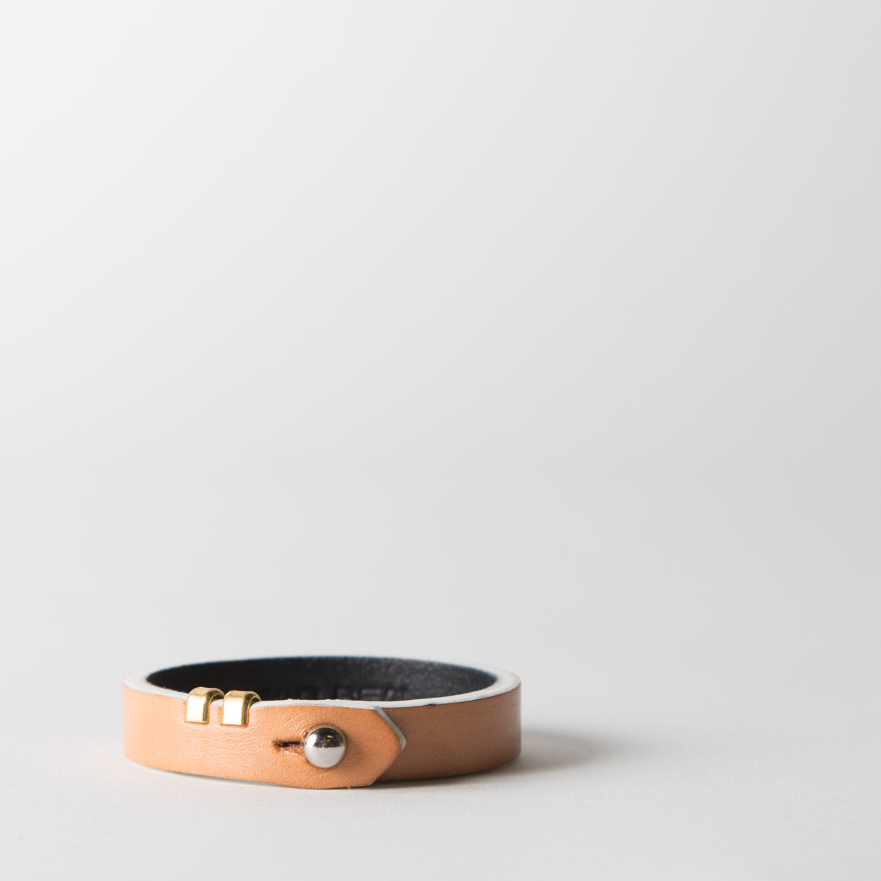 Classic Leather Bracelet, raw