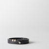 Classic Leather Bracelet, black