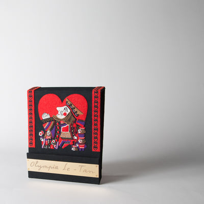 King of Hearts Matchbook Clutch