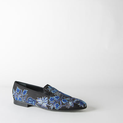 Floral Embroidered Slipper