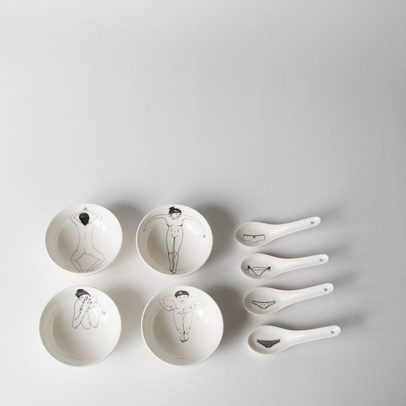 Undressed Bowl Set