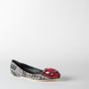 Houndstooth Jewel Flats