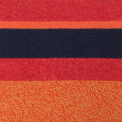 Chessboxing Scarf, red/orange