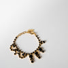 Black & Gold Crystal Bracelet