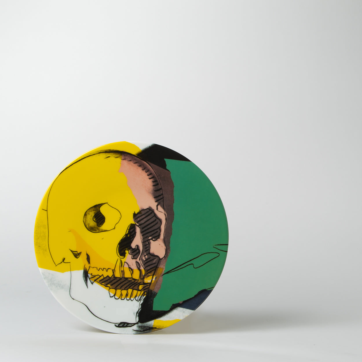 Andy Warhol - Skull Plate