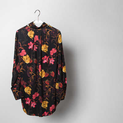 Dorothea Floral Pearl Blouse