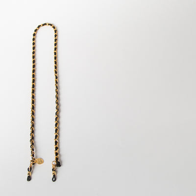 Chanel Chain, black/gold