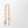 fashion beige chain eyewear straps in acetate by Poco Loco