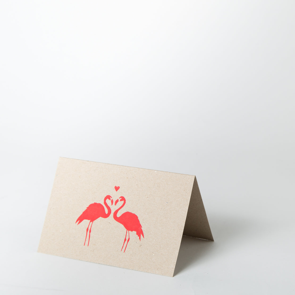 Love Card - Flamingo