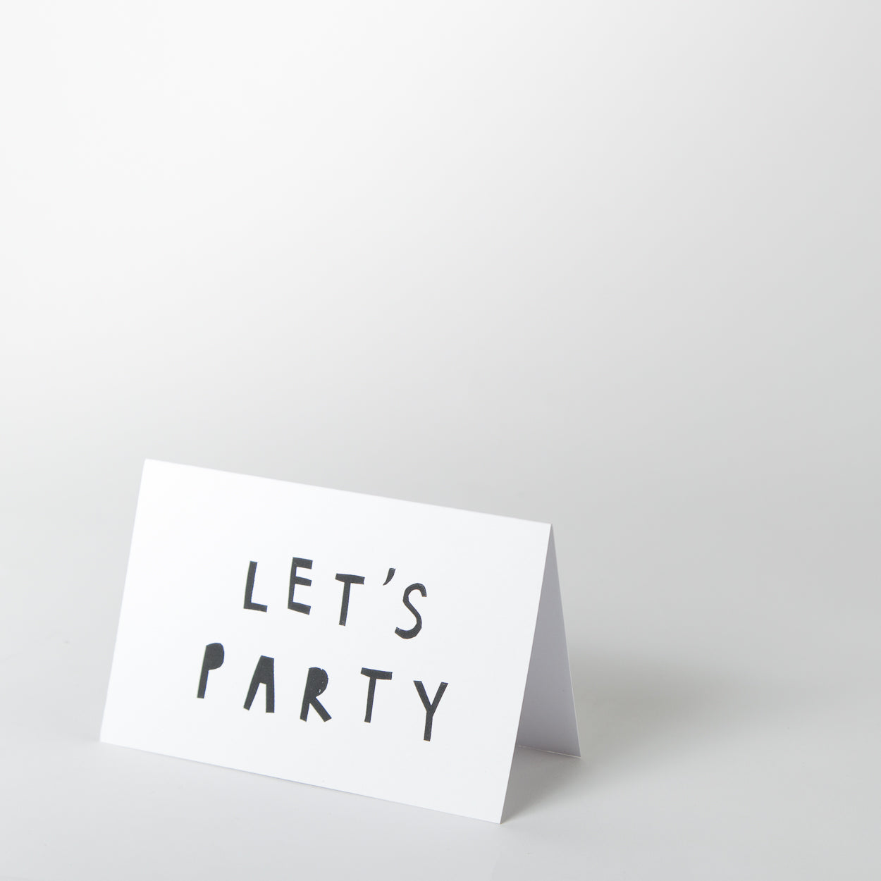 Card - Let's Party