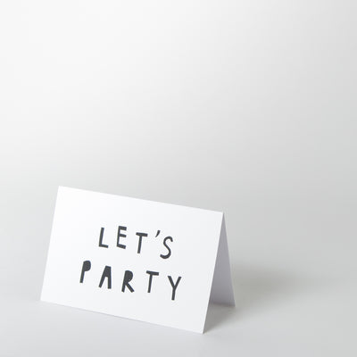 Card - Lets Party