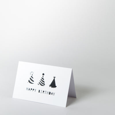 Birthday Card - Birthday Hats