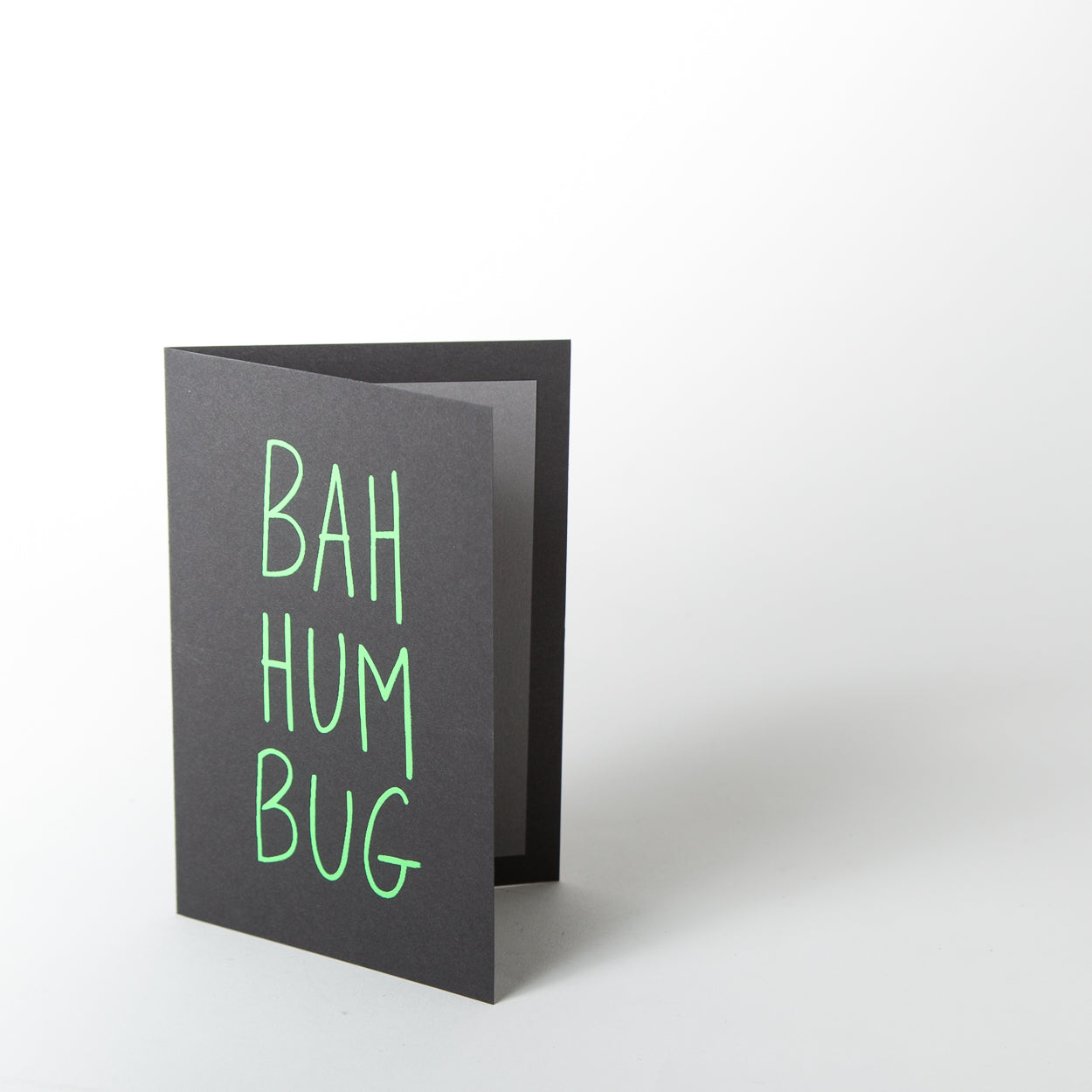 Christmas Card - Bah Humbug