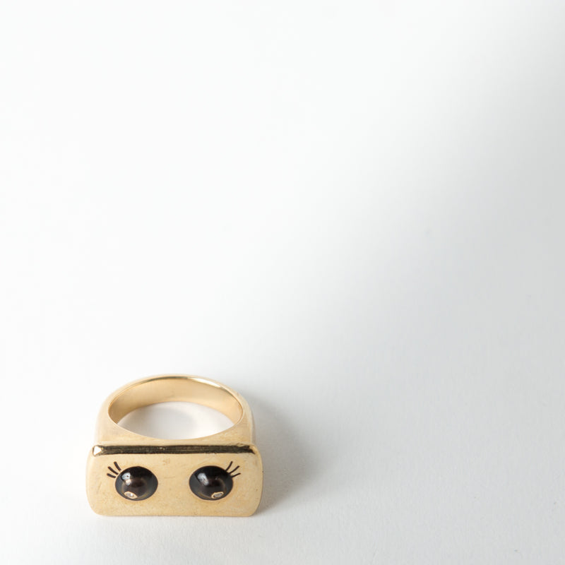Eyes Bar Ring